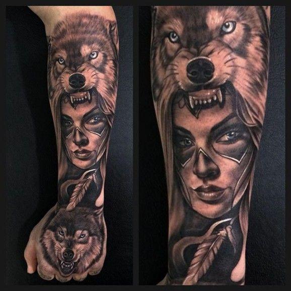 Spirit animal warrior. - Josh Sara, Australia