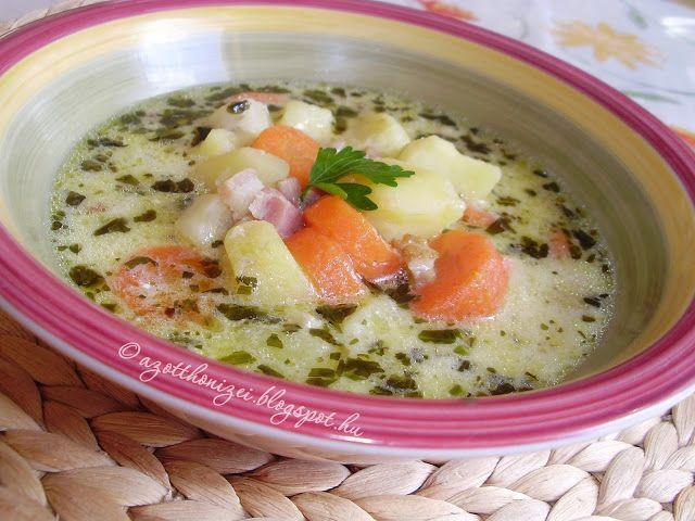 Az otthon ízei: Tárkonyos-tejfölös krumplileves