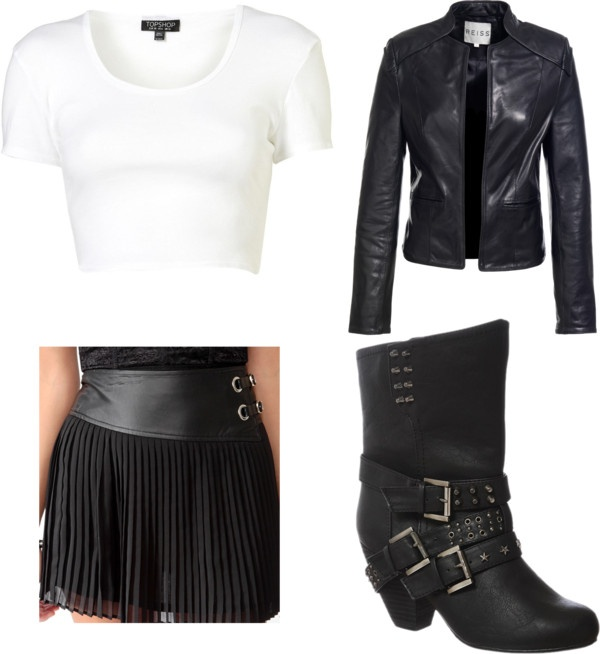"""goth casual"" by lily1844 on Polyvore"