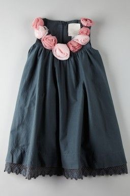 Erin - what about this for a flower girl dress, but in white or cream...so cute and easy to make! La Piccola Danza Rosie Dress
