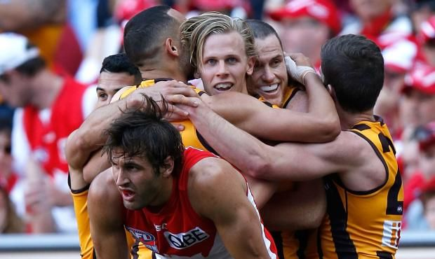 Sweet repeat: Hawks soar to back-to-back flags after hammering sorry Swans - AFL.com.au