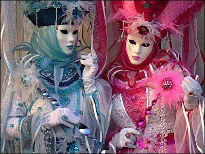 Costume , mystére , beauté , élégance , Venise .