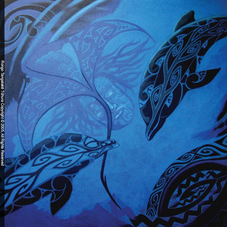 Nga Tamariki O Tangaroa - The Children Of The Sea God