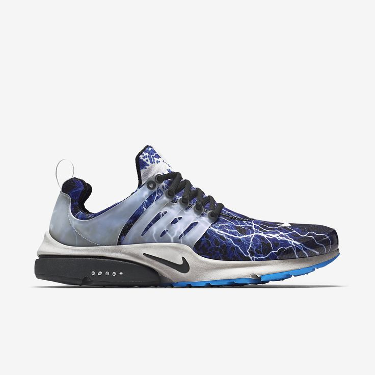 Trend Mark Basketball Shoes Mens Nike Air Presto Black/Black/Zen Grey/Harbor Blue