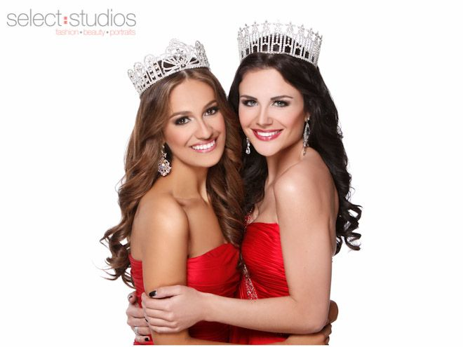 Miss Texas Teen USA 2013 Daniella Rodriguez and Miss Texas USA 2013 Ali Nugent - Select Studios Photography