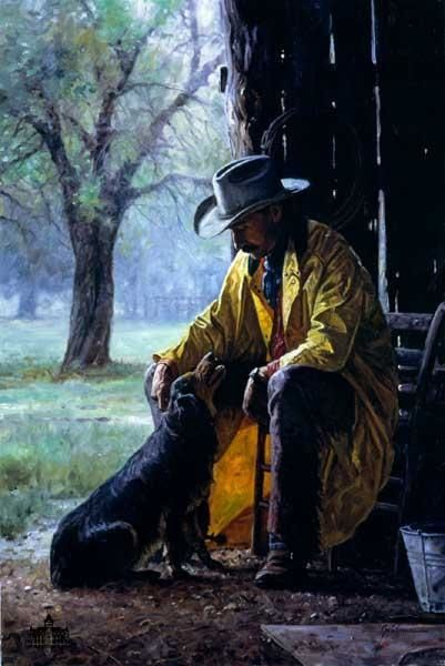 """"""" MORE THAN FRIENDS """"  Martin Grelle       This painting takes my breath away"""