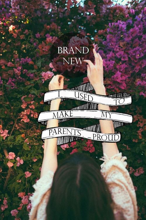 I used to pray like god was listening~~ Brand New