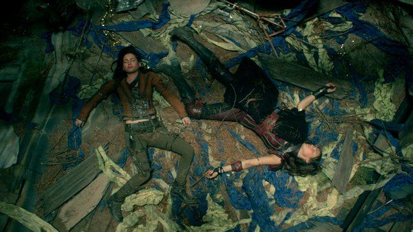Shannara on MTV ‏@Shannara   Uh oh, falling into a ditch does not seem like the best way to escape these Elfhunters…#Shannara