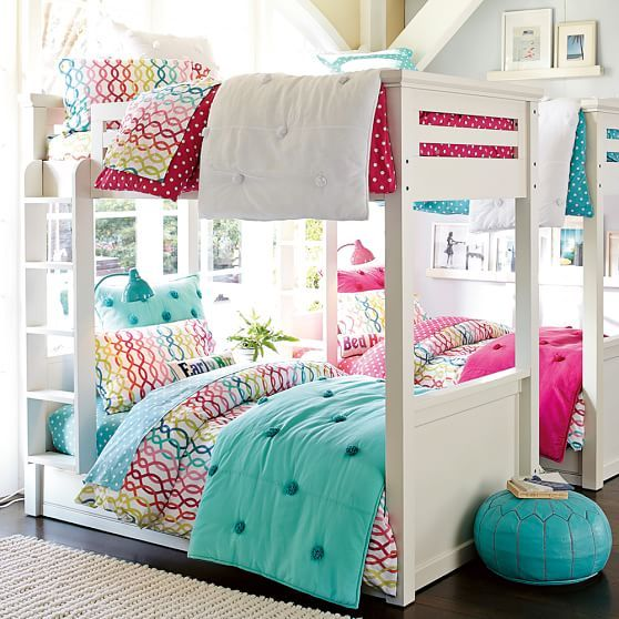 Pottery Barn Oxford Bunk Bed Twin