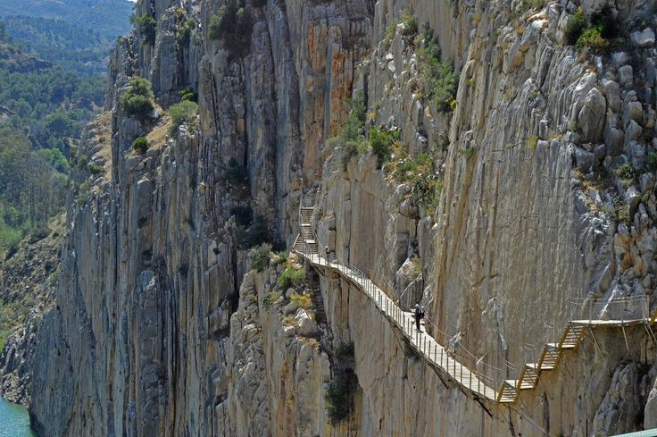 Trail in Spain - Caminito del Rey, Málaga