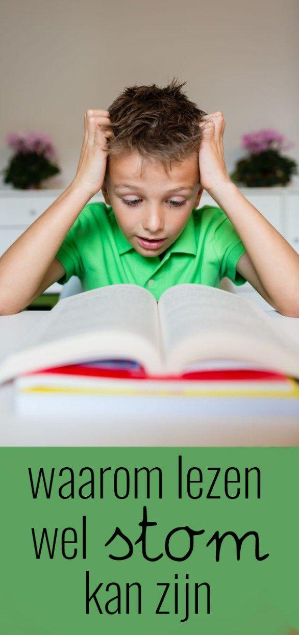 Waarom lezen wel degelijk 'stom' kan zijn
