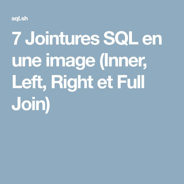 Best 25+ Joins in sql ideas on Pinterest Sql join where, Sql - microstrategy administrator sample resume