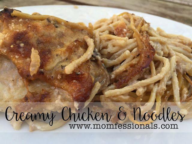 Creamy Chicken and Noodles | Momfessionals | Bloglovin'