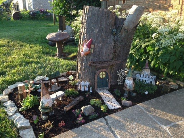 1000+ images about Gnome Gardens on Pinterest | Gnome garden ...