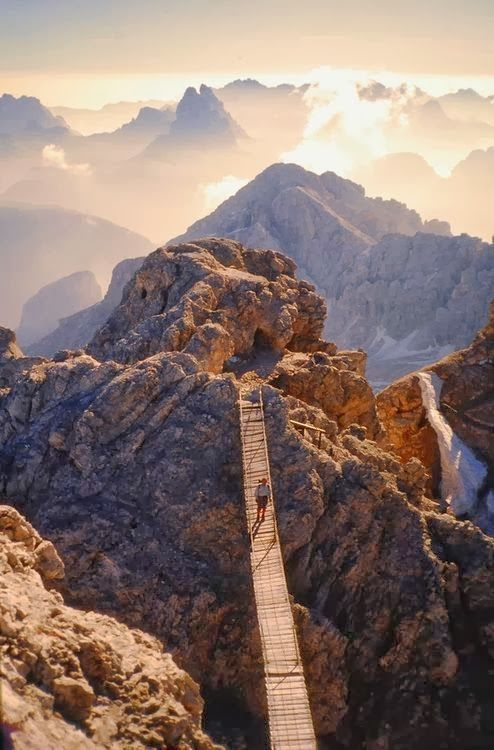 Monte Cristallo, Dolomites of Trentino, Italië