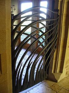 Lucy Sandys Clarke.jpg Iron freeform gate