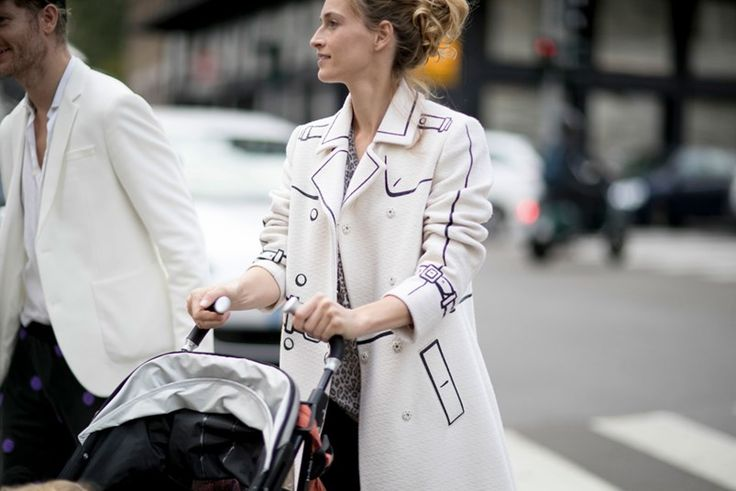 The Best Street Style From Milan Fashion Week SS17 #streetstyle #milan #fashion #fashionweek #ss17 #elleaus