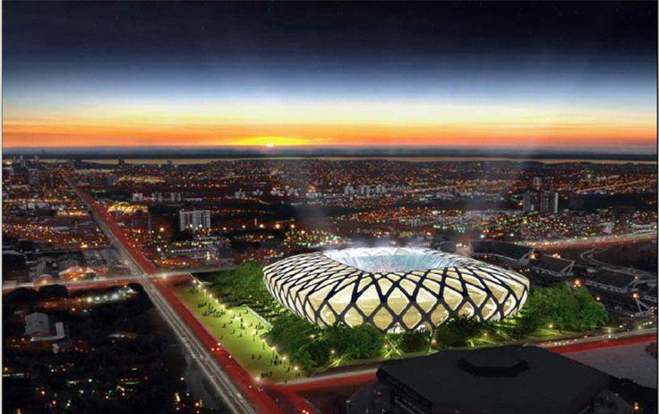 """""""Arena Amazonas"""". Manaus, Amazonas. Brasil."""
