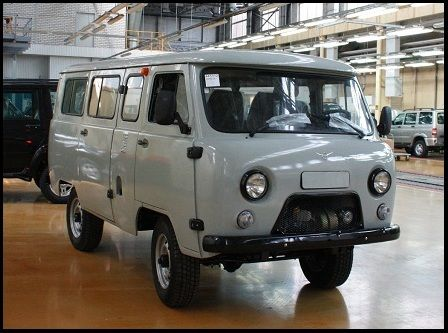 UAZ 452 passenger | Made in Russia
