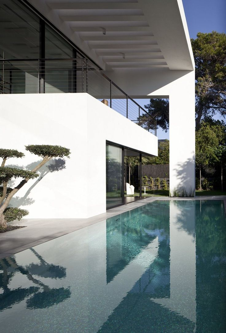 Best A Images On Pinterest Architecture Contemporary - Contemporary purity and simplicity pool villa by jm architecture italy