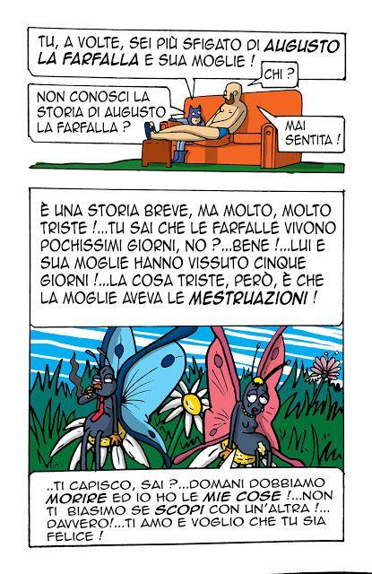 millevignette di ignazio piscitelli: Augusto La Farfalla