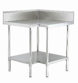 work table - Peralatan stainless dapur komersial, instalasi gas, pembuangan asap restoran, exhaust hood, kitchen sink, stainless table