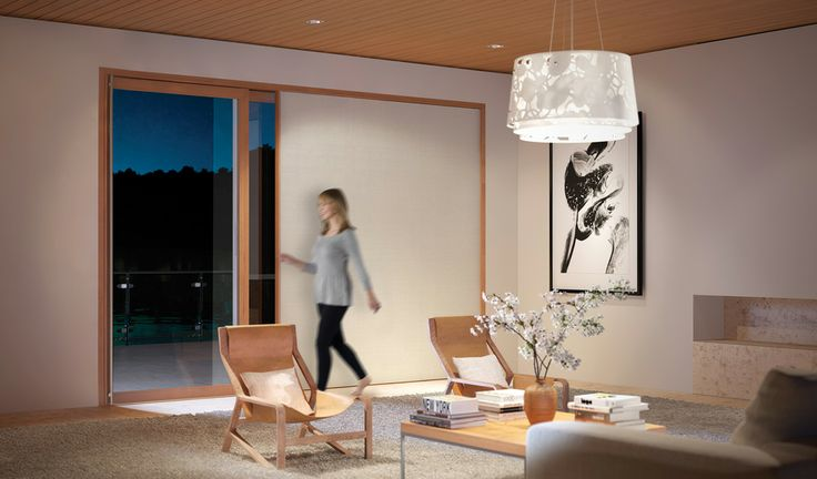 Centor UK - Sliding Doors with Integrated Blinds