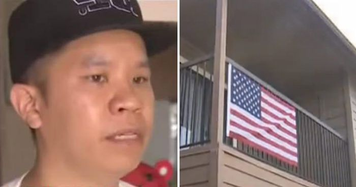 """Muslim Told Texas Man, """"TAKE DOWN THE FLAG!""""- His Response Is PERFECT!"""