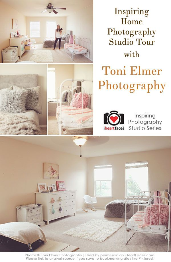 Beautiful Home Photography Studio {Toni Elmer Photography}