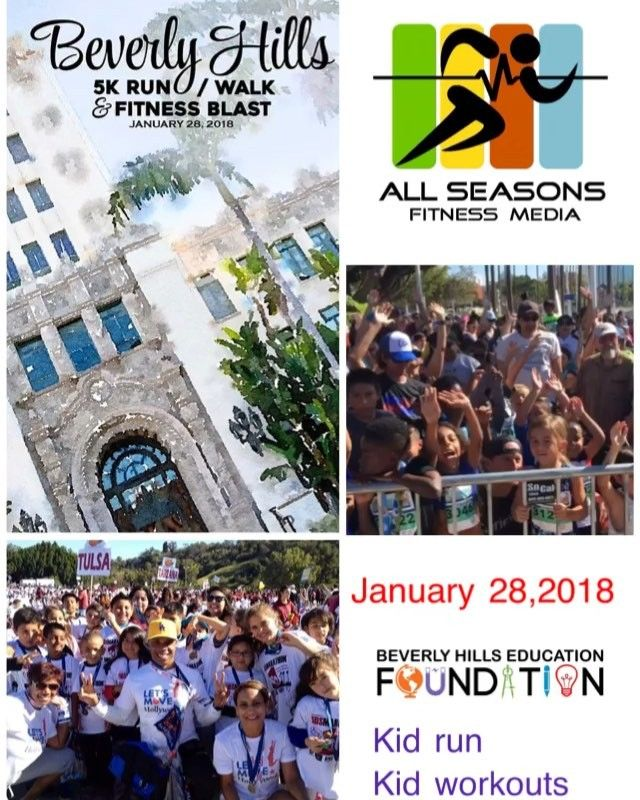 From Long Beach, to Beverly Hills, and in the spirit of the Beverly Hills Mayor @lilibosse1's #BHHealthyCity phenomena..... REGISTRATION IS OPEN!!!! The FIRST Annual Beverly Hills 5/k Run/Walk & Fitness Blast https://lnkd.in/gDVuY_N January 28, 2018! On The City of Beverly Hills 104th Birthday and the main beneficiary The Beverly Hills Education Foundation's 40th Anniversary! The Fitness Blast is YOGA, Pilates, KickBoxing, KIDS World!  DISCOUNT CODES: Beverly Hills High School: BHHS…