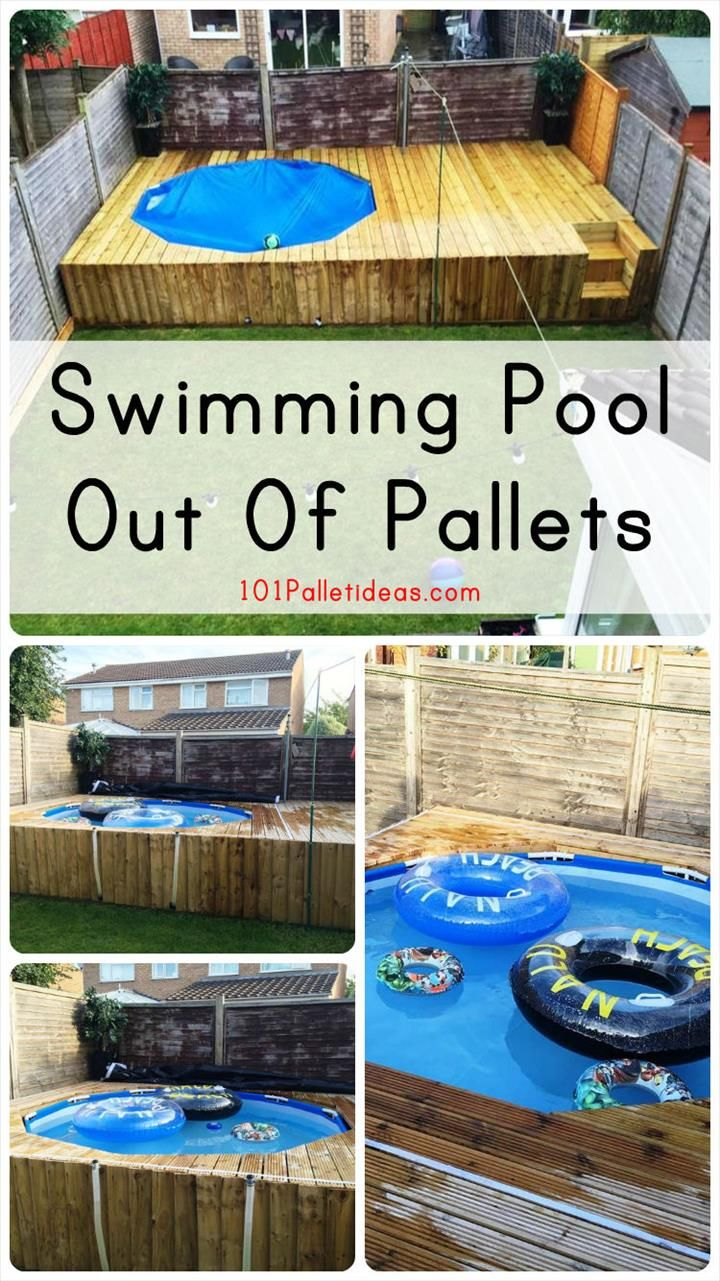 109 best images about pool and deck ideas on pinterest for Above ground pool decks made from pallets