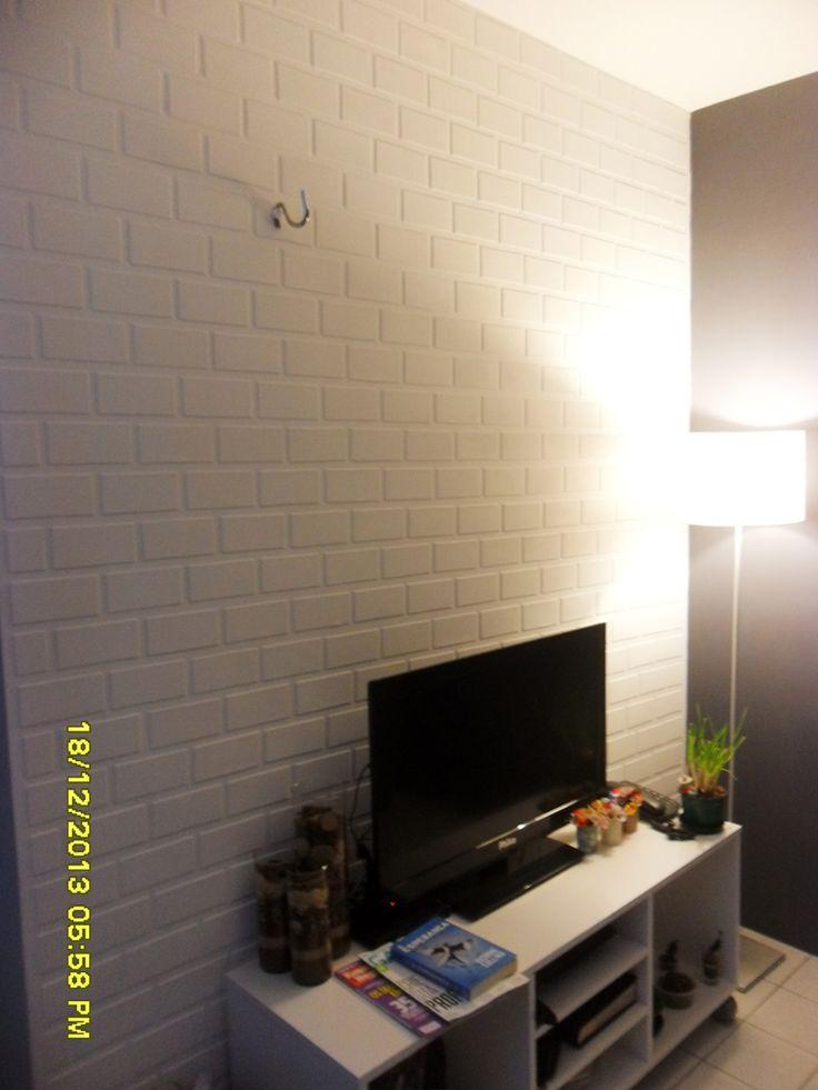 O resultado é muito legal e a sua parede agradece.                                                                                                                                                                                 Mais