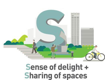 Image result for text and public space graphic design