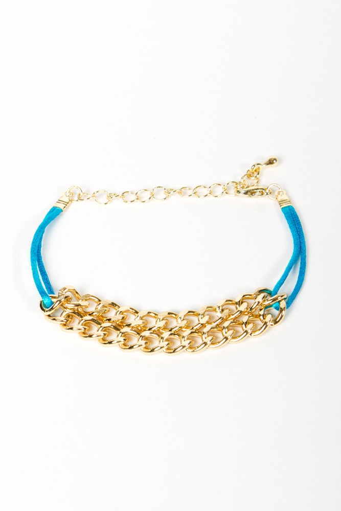 LOVE THIS! Gold Chain Bracelet