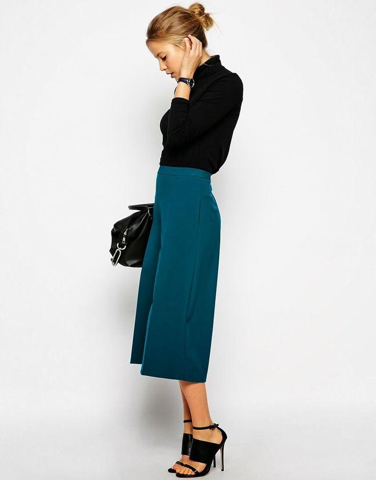 outfit pantaloni palazzo corti - Cerca con Google