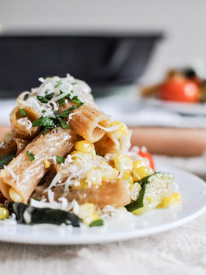 ... Garden Vegetable Pasta Skillet | Vegetable Pasta, Pasta and Skillets