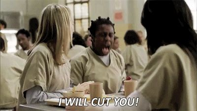 17 GIFs That Sum Up Our Obsession With 'Orange Is The New Black' - Love Crazy Eyes!