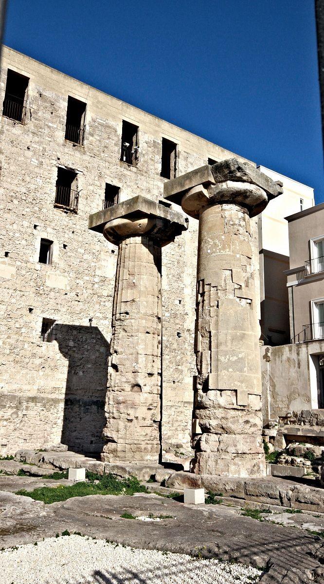 Taranto i resti del tempio