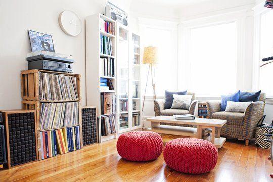 Allison & Luke's Comfortable Eclectic Apartment — House Tour
