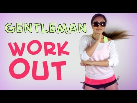 PSY Gentleman Challenge | POP Pilates This is such a funny workout! And it's also very good for the hips! Go at it girls!! :D