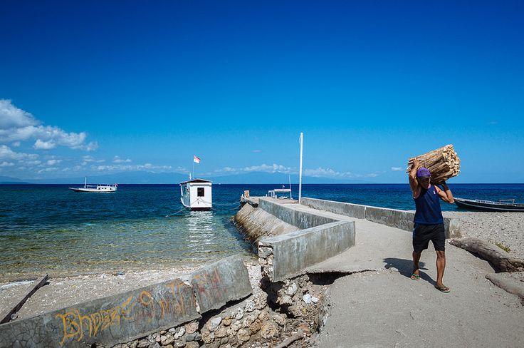 Moyo Island Port - Sumbawa  Photo Ahmed Syukaery