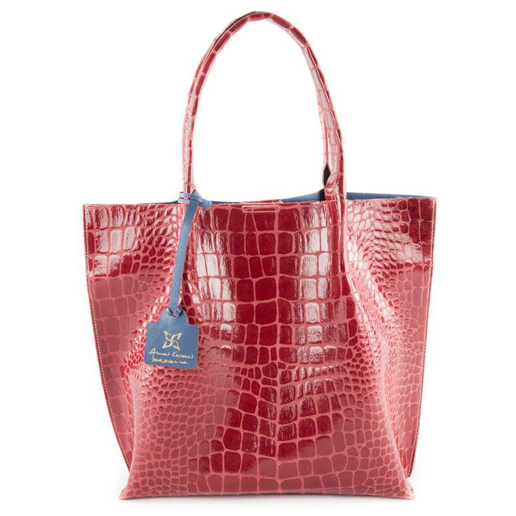 Alice Anni (red) - borsa rossa a mano in vera pelle by kokomamas collections spring summer 2014 (bags and accessorized)
