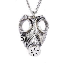 Dysfunctional Doll Israeli Gas Mask Necklace Gothic Apocalypse Design