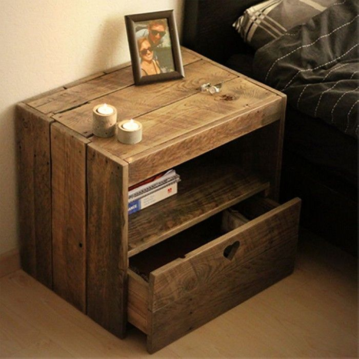 Do It Yourself Home Design: 17 Best Ideas About Pallet Side Table On Pinterest
