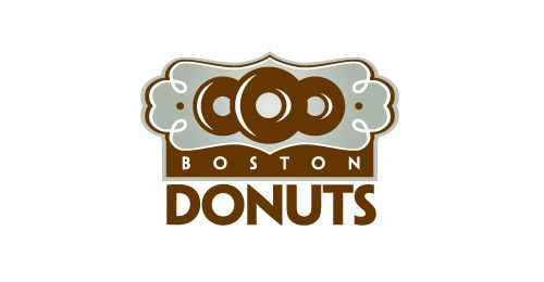 35 Delicious Donut & Cupcake Logos