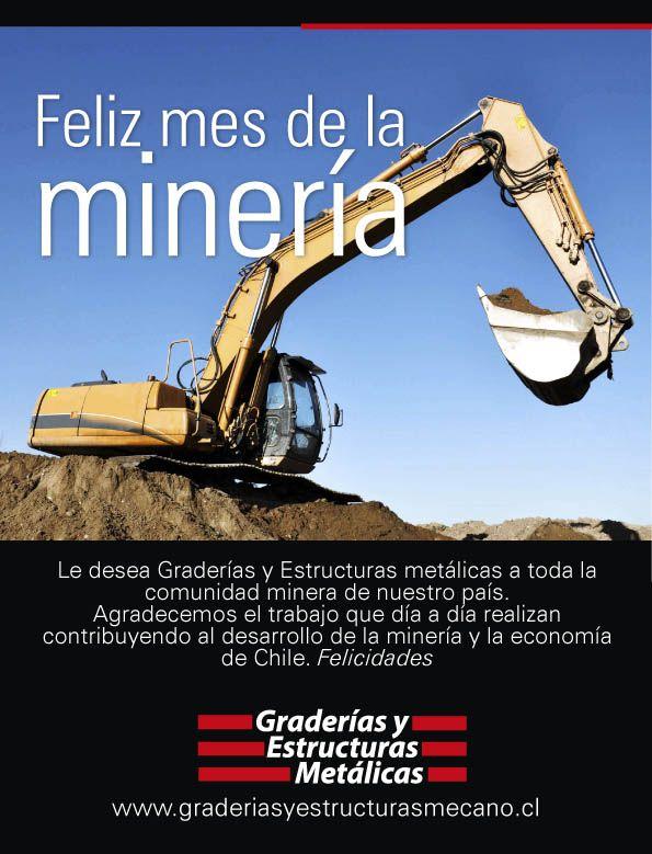 Feliz Mes de la Minería