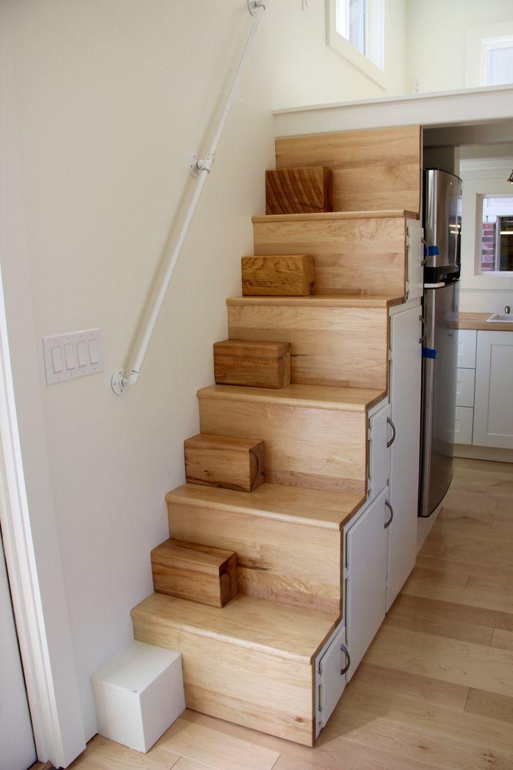 the chickadee brevard tiny house company 11 - Tiny House Stairs