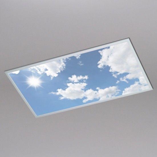 Wofi Leuchten - LIV Dechenl., Wolkenhimmel 5.5, 60, 120 50W / 6.000K / 4.000Lm