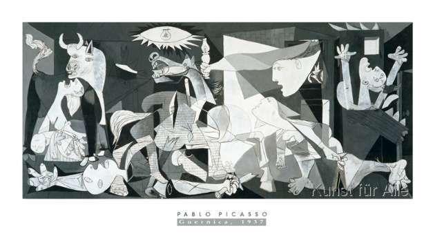 Pablo Picasso - Guernica, 1937