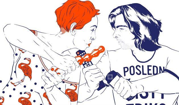 Píšeme o stereotypech mezi mužem a ženou a nespíme spolu. Tak lákají autoři knihy Bez jablka Miloš Říha a Michelle Losekoot na své debutové dílo. Jde o soubor textů, které začali společně psát před rokem a půl na internetový blog Bez jablka.